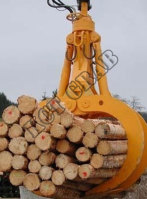 Excavator Log Grab